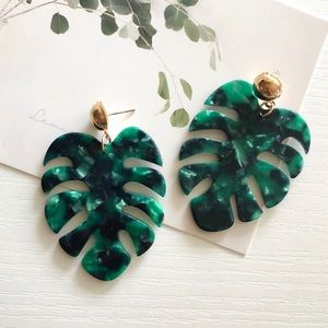 Jewelry - Leave Monstera Fashion Earrings